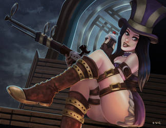 Caitlyn Pin Up