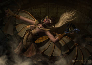 Steampunk Flight by Kachinadoll