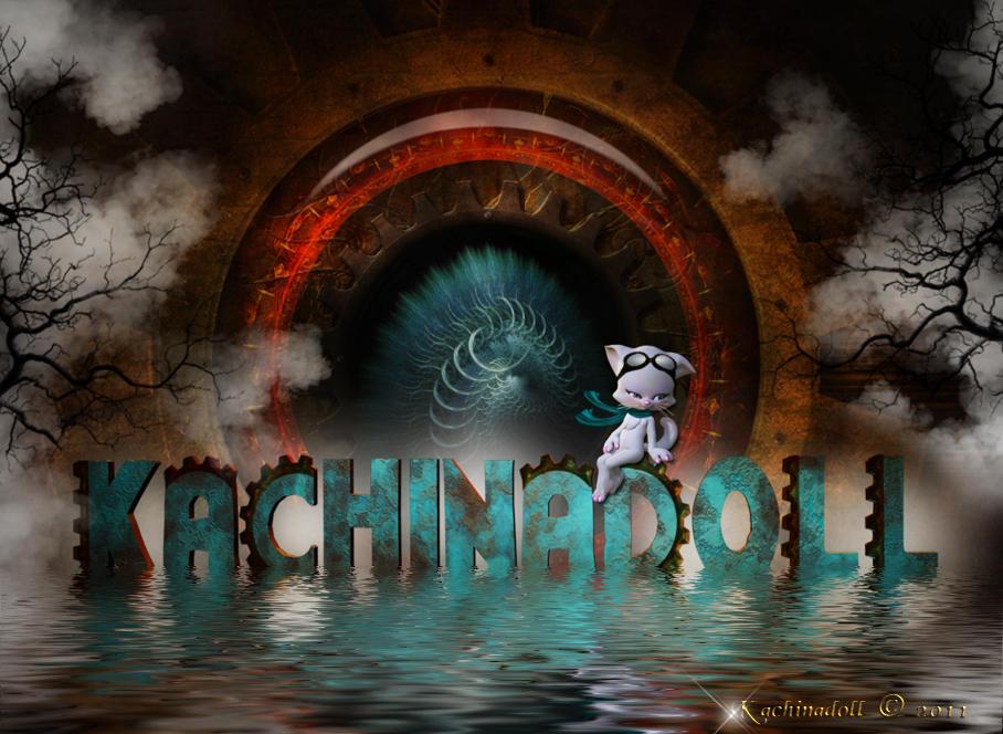 Kachinadoll Steampunk ID