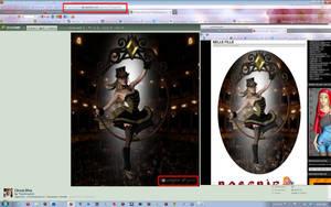 Circus Diva and Stolen Blog Screenshot