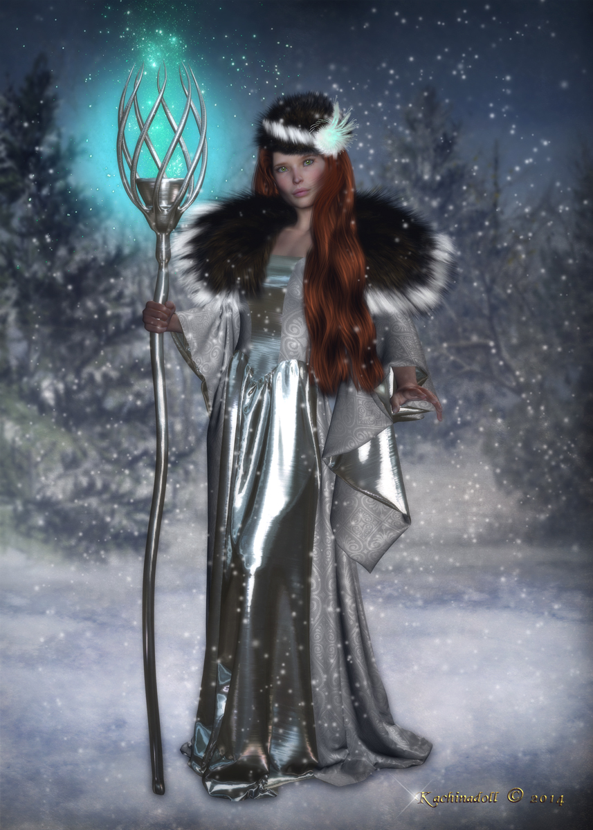 Winter Witch by Kachinadoll on DeviantArt