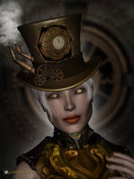 Steampunk Eyes by Kachinadoll