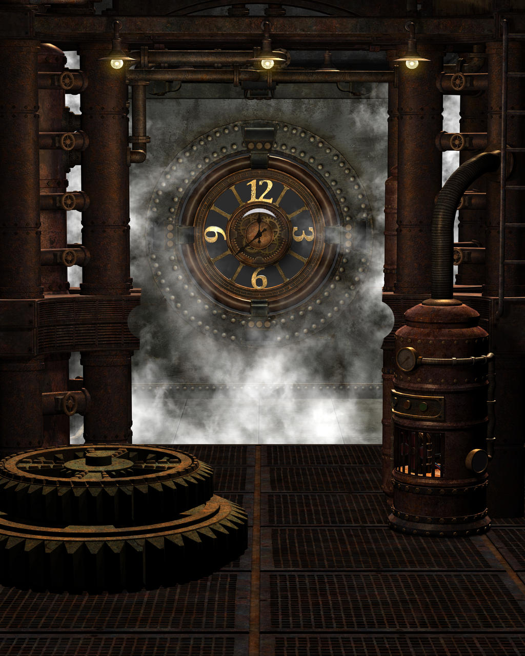steampunk background 6 by kachinadoll on deviantart. Black Bedroom Furniture Sets. Home Design Ideas