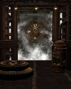 Steampunk Background 6