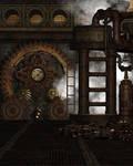 Steampunk Background 5