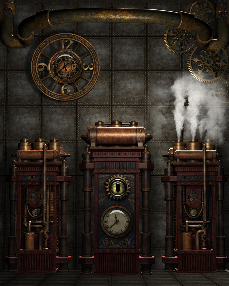 steampunk background 4 by kachinadoll on deviantart. Black Bedroom Furniture Sets. Home Design Ideas