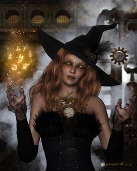 Steampunk Witch