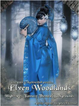 Elven Woodlands Backgrounds