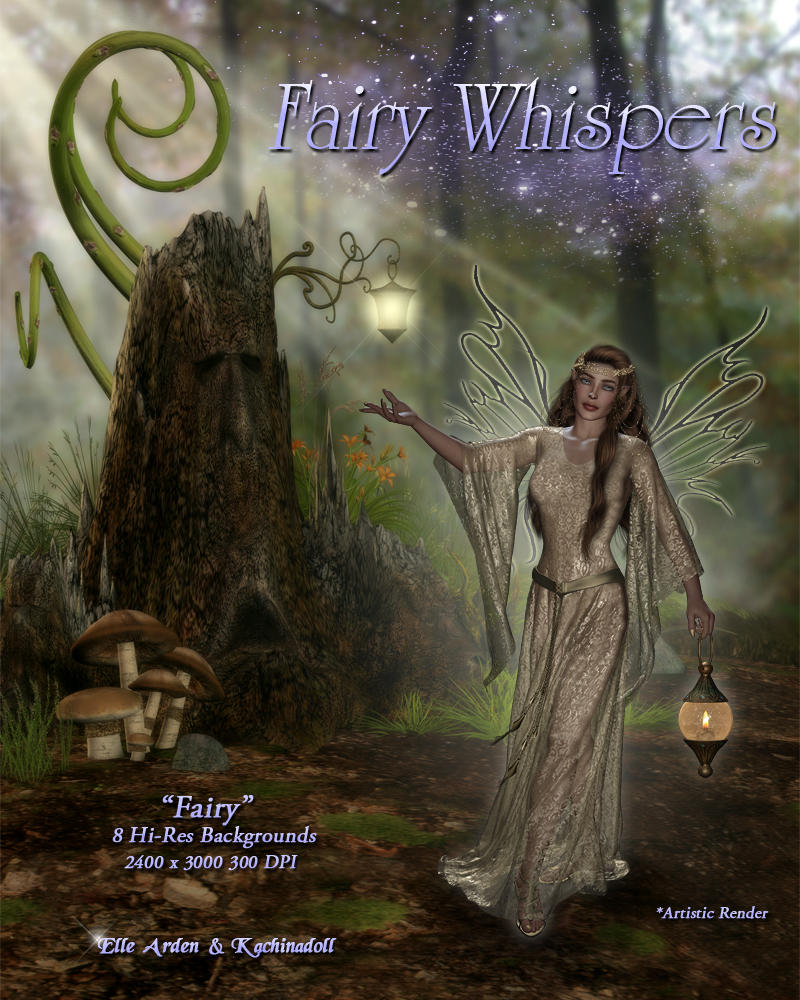 Fairy Whispers - Backgrounds