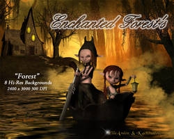 Enchanted Forests Backgrounds