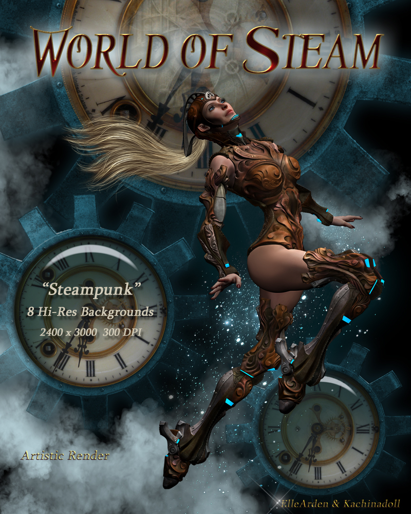 World of Steam Backgrounds by Kachinadoll