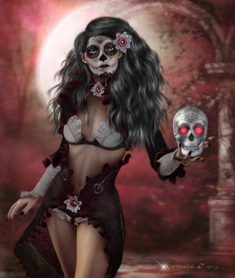Day of the Dead by Kachinadoll