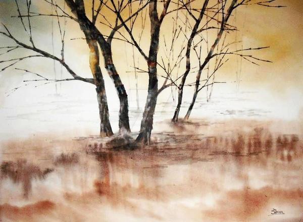 Autumn Silence by petiteartiste666