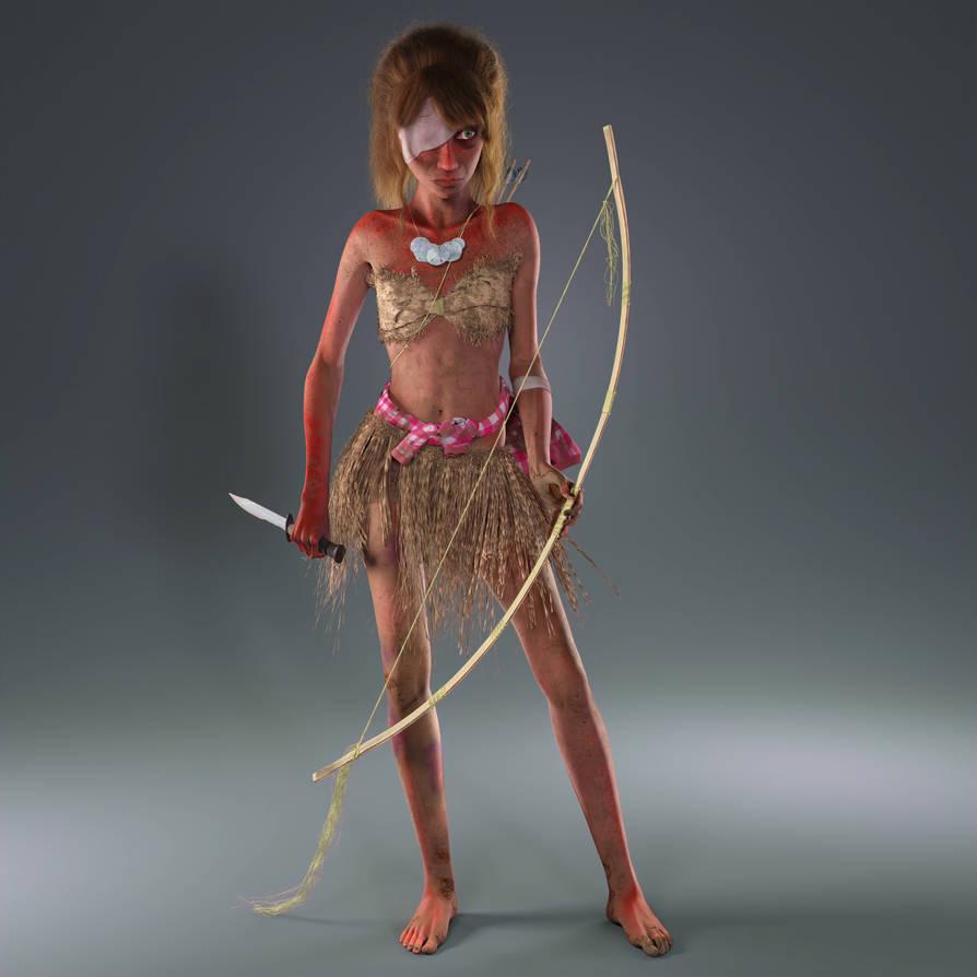 Alice Hamada Survival Outfit