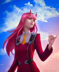 Zero Two by Laly-DeRose