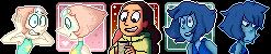 steven universe icon batch by sstar-boy