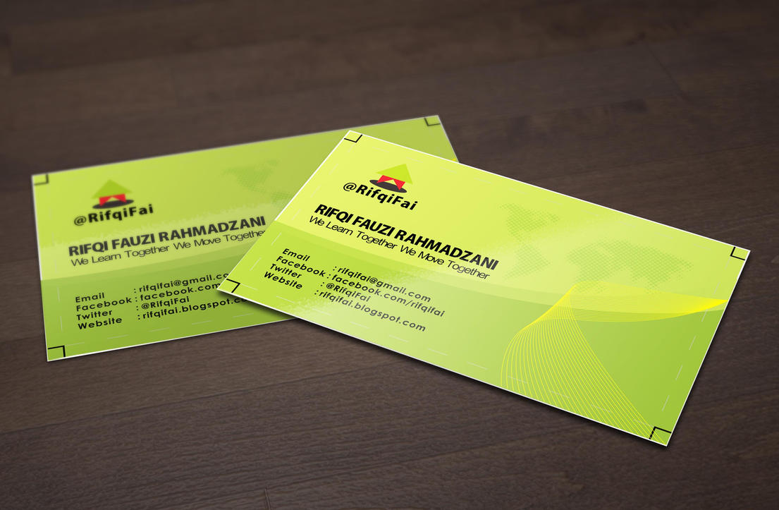 free business card mock up from freegraphicdes by rifqifai on deviantart