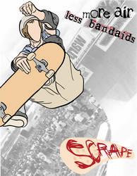 scrape - grip tape ad