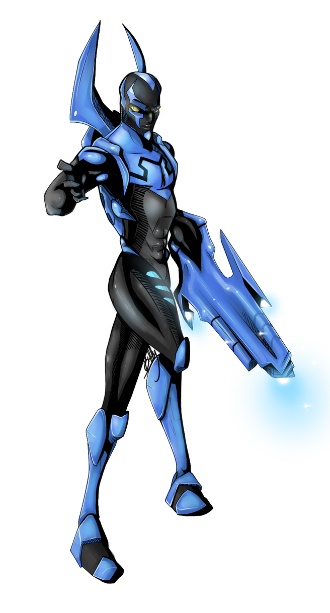 BlueBeetle DONE by VexyFate