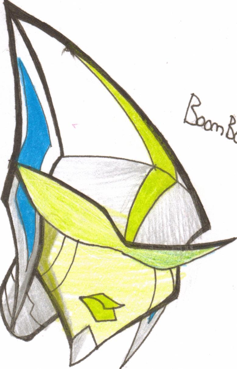 TFA Head boombox by VexyFate