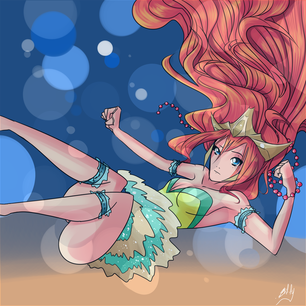 The Sea Queen by VexyFate