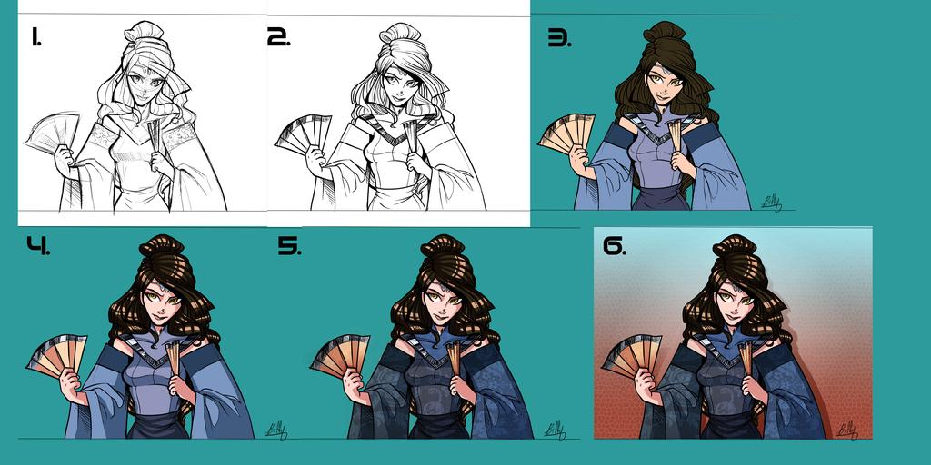 Lorai tutorial by VexyFate