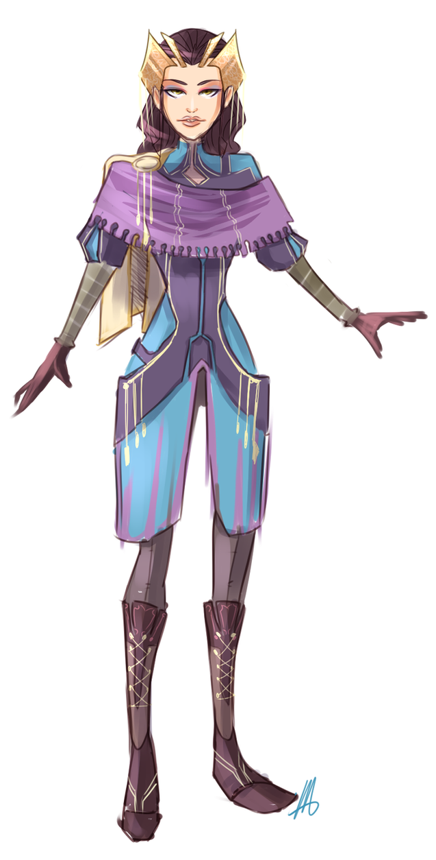 Costume Design Royal Space Explorer by VexyFate