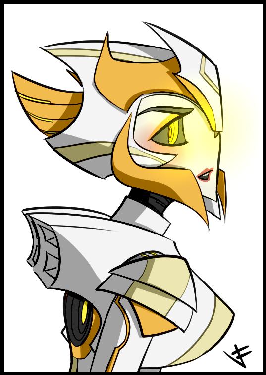 Solaris Elite Gaurd Bust by VexyFate