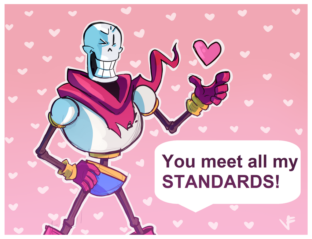 Papyrus STANDARDS Valentines Card by VexyFate on DeviantArt – Papyrus Valentine Cards
