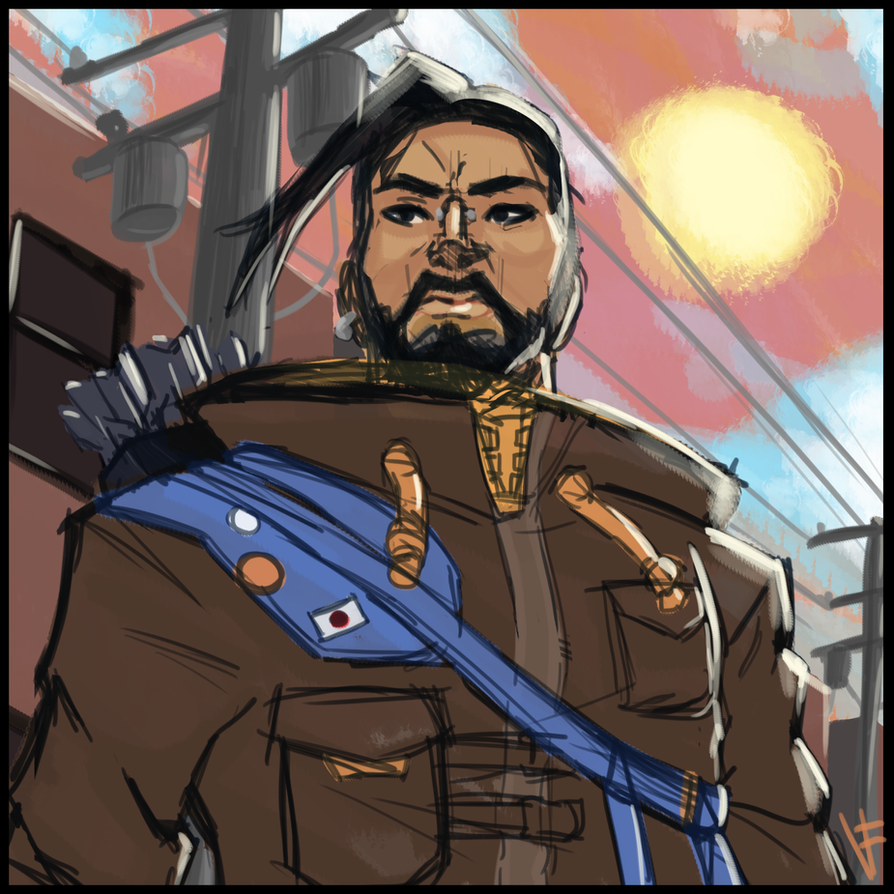 Reflections Hanzo by VexyFate
