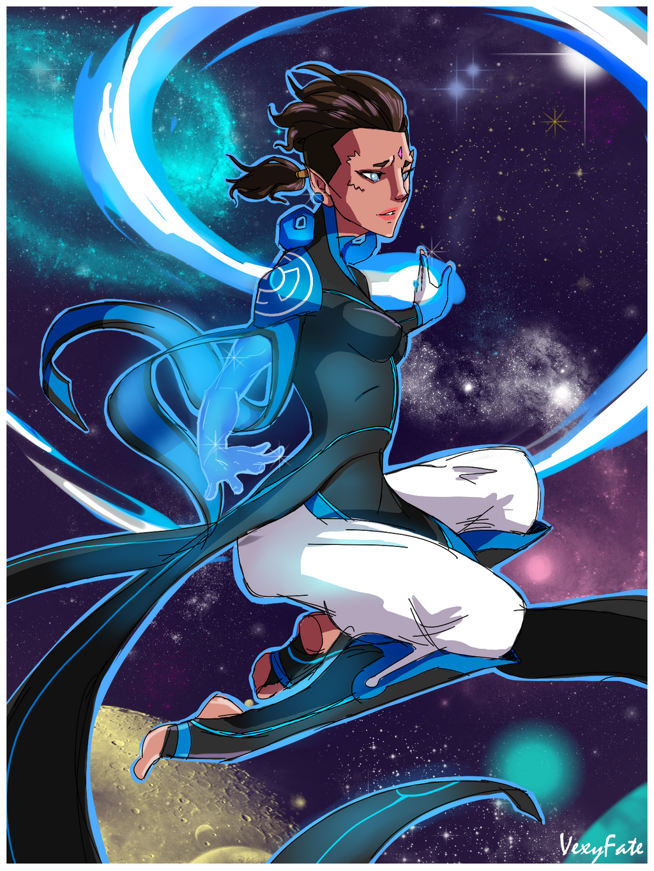 Ieada Blue Lantern by VexyFate