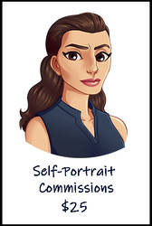 Self Portrait CMs by VexyFate