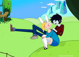 Fionna and Marshal Lee - X's Marks the Spot!