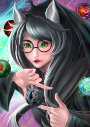 Jade : Witch of Space by ZAKUGA