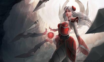 Irelia - League of Legends by ZAKUGA