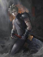 Final Fantasy 7: Cloud Strife by ZAKUGA