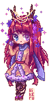 Pixel Lily by Hikerumin