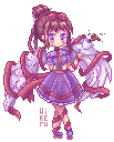 Pixel character by Hikerumin