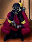 Sitting Pyro