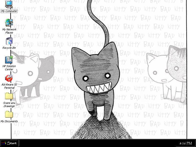 Bad kitty.. by StarsandMemory