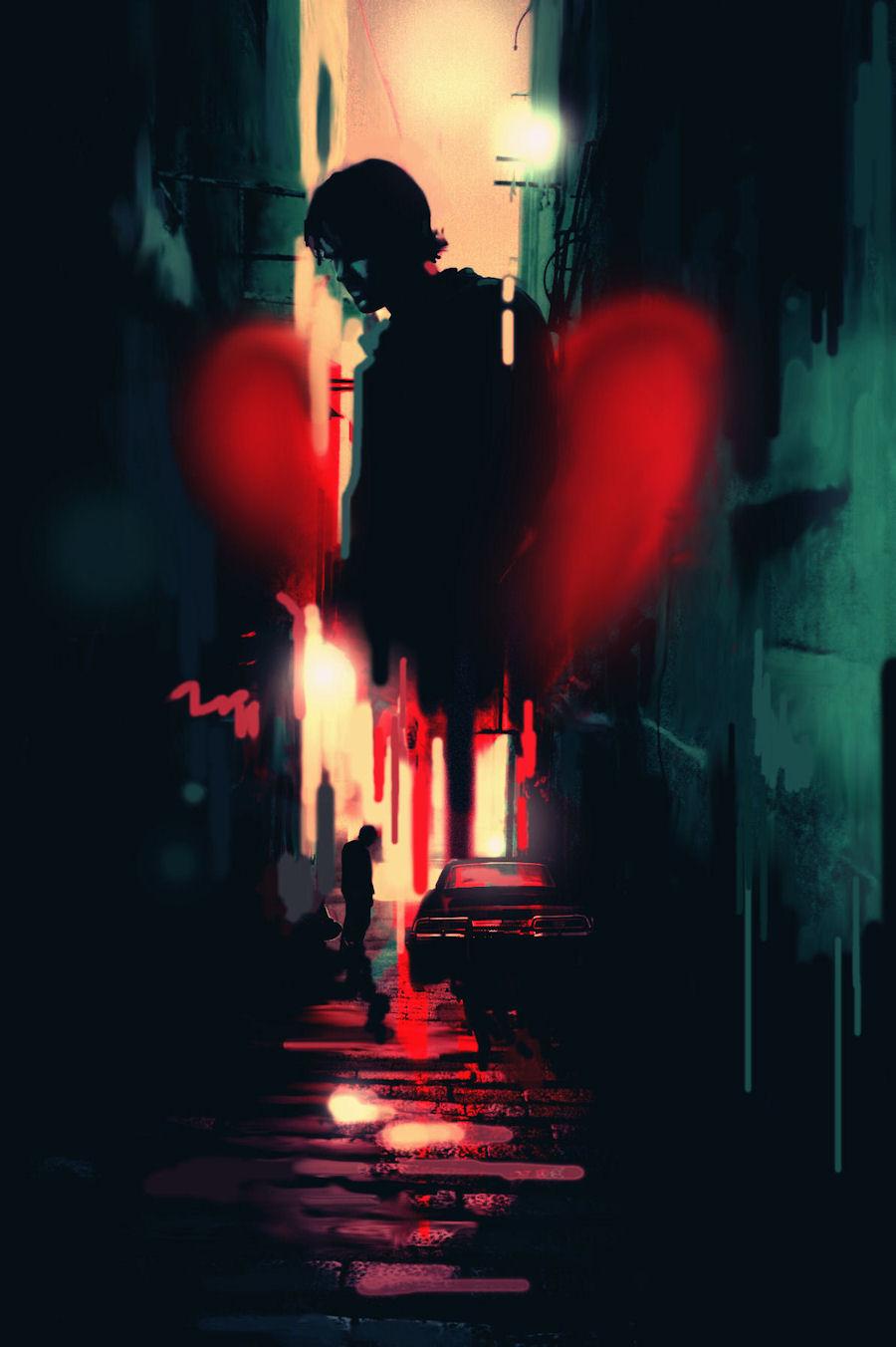 SPN: Bleeding Heart by nargynargy