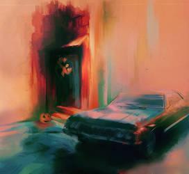 wincest: curtain-art by nargynargy