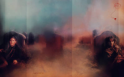 SPN: Life in Cemeteries by nargynargy