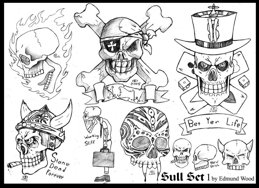 skull flash sheet by nemesisenforcer. Black Bedroom Furniture Sets. Home Design Ideas
