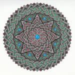 Knotwork Mandala by Hellsrainstar