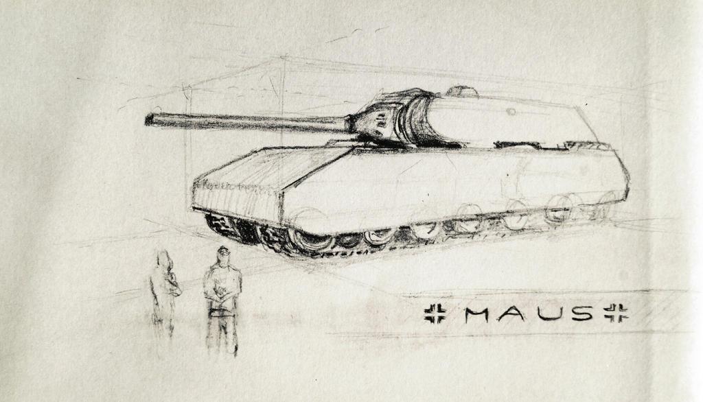 Tehno-illustration - Maus by Pumais