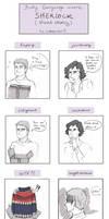 Body Language Meme - Sherlock