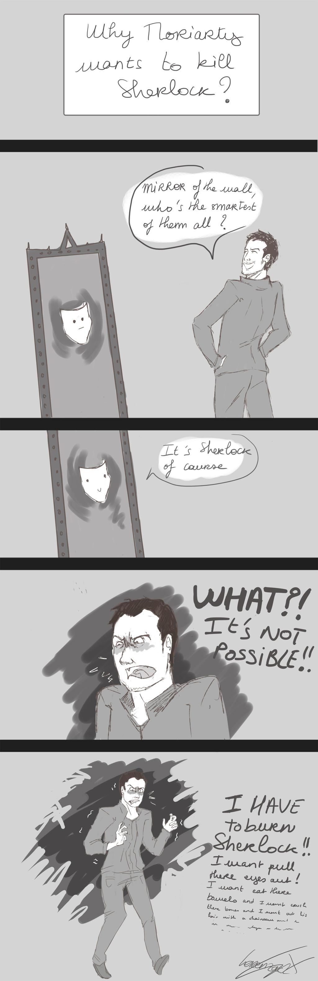 Why Moriarty Wants To Kill Sherlock?