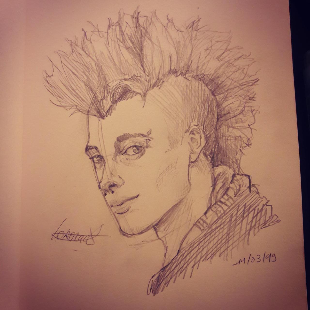 Anonymous Tinder Portrait n4