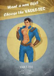 Fallout Vault-Tec Propaganda